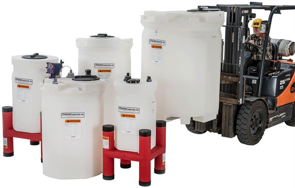 Harrington Industrial Plastics - Snyder Industries Dual Containment Tank