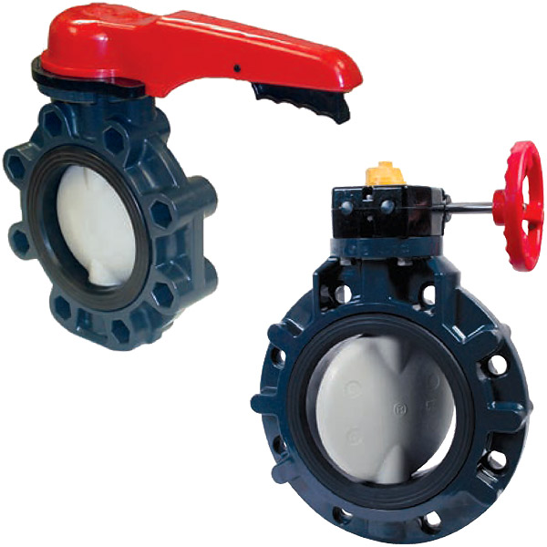 Harrington Industrial Plastics - Asahi Butterfly Valves