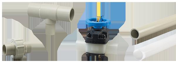 Harrington Industrial Plastics - High Purity Pipe Fittings