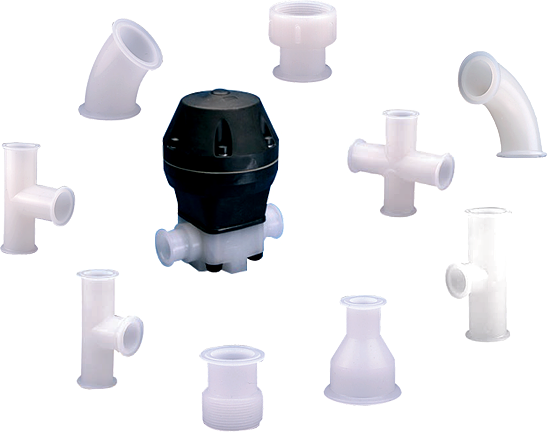 Harrington Industrial Plastics - Sani Tech Rigid Piping