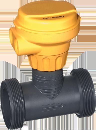 Harrington Industrial Plastics - Signet Vortex Flow Sensor