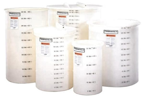 Harrington Industrial Plastics - Snyder Open Top Tank System