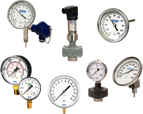 Harrington Industrial Plastics - Wika Pressure Temperature - Life Sciences