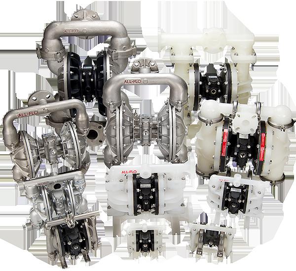 Harrington Industrial Plastics - All-Flo Diaphragm Pumps