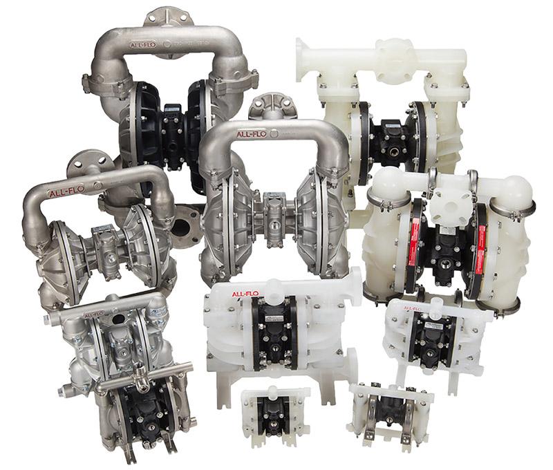 Harrington Industrial Plastics - All-Flo-Diaphram-Pumps