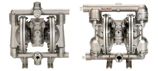 Harrington Industrial Plastics - All Flo Meta Diaphragm Pumps