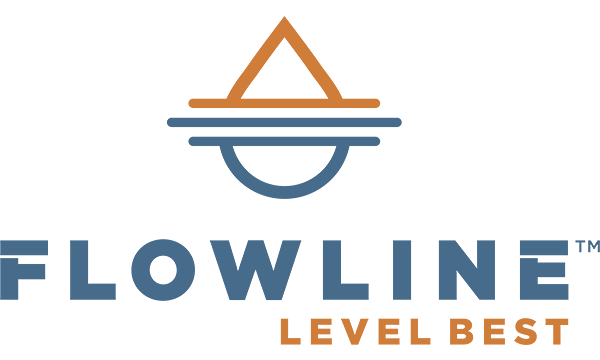 Harrington Industrial Plastics - Flowline Logo