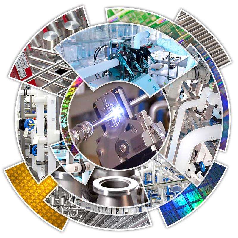 Harrington Industrial Plastics - High Purity Hero Image Landing Page