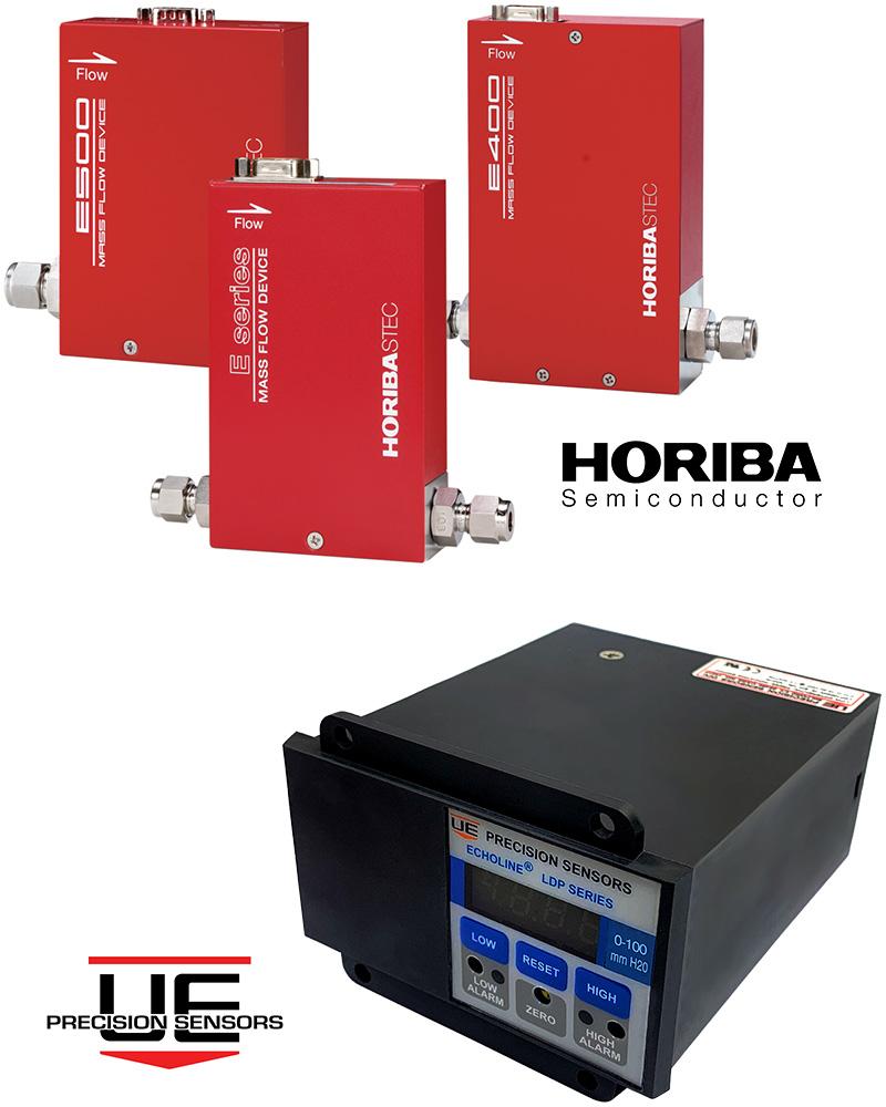 Horiba and UE Precision Sensors Hero Image