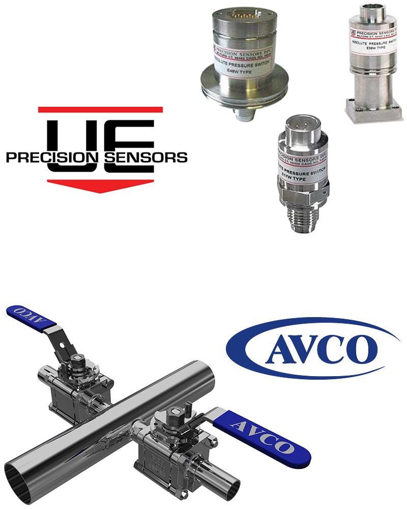 UE Precision Sensors and AVCO Hero Image