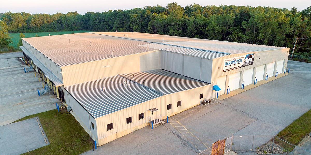 Harrington Industrial Plastics - Fort Wayne Distribution Center Aerial Shot