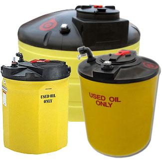 Chem-Tainer Waste Oil Storage Tanks