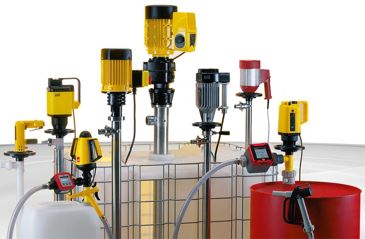 Lutz Pumps - Harrington Industrial Plastics